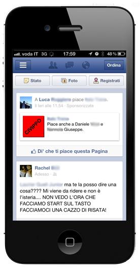 ADS Facebook su MOBILE e NEWS FEED