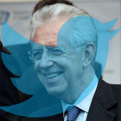 Monti torna in politica e lo fa tramite Twitter!