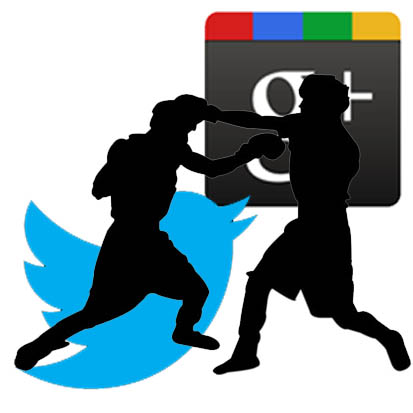 Twitter Vs Google+: qual è il vero sfidante di Facebook?