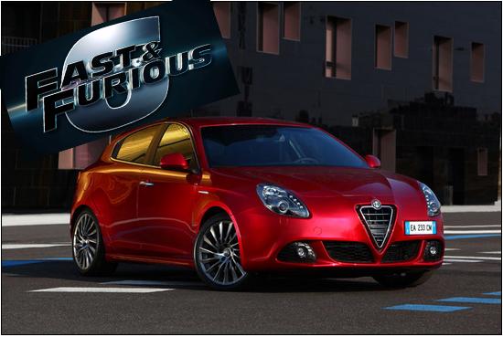 Fast & Furious 6: protagonista l'Alfa Romeo Giulietta!