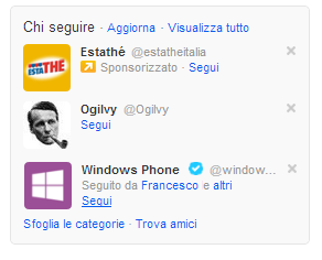 Promoted Account