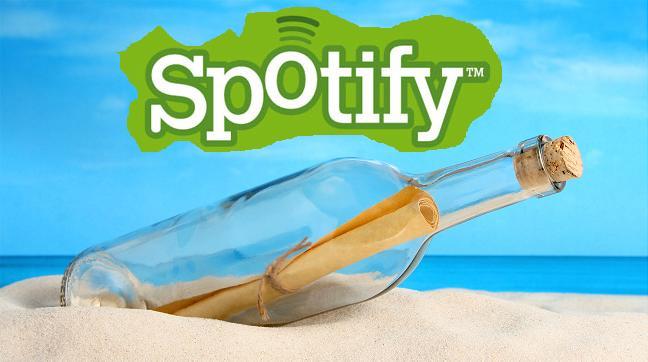 Spotify: messaggio nascosto tramite i titoli delle canzoni!