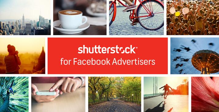 Facebook e Shutterstock: immagini gratuite per le ADS!