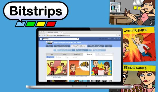 """Fumetti su Facebook? Ecco la nuova social-mania """"Bitstrips""""!"""