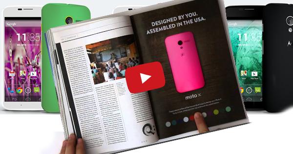 Anteprima mondiale: la prima inserzione interattiva su una rivista!