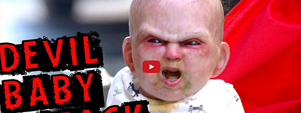 Devil Baby Attack, il neonato virale che terrorizza New York!