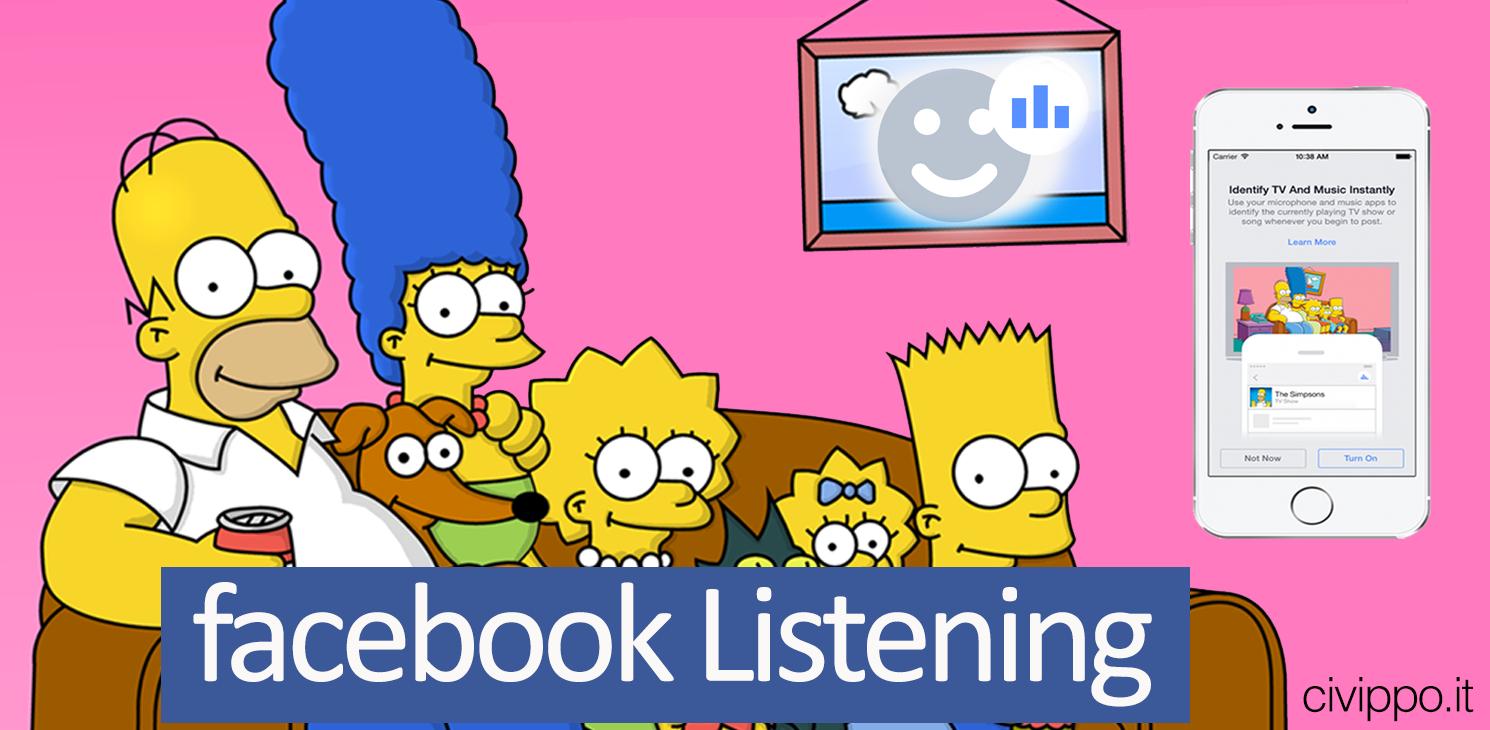 Facebook Listening: riconoscerà le canzoni come Shazam!