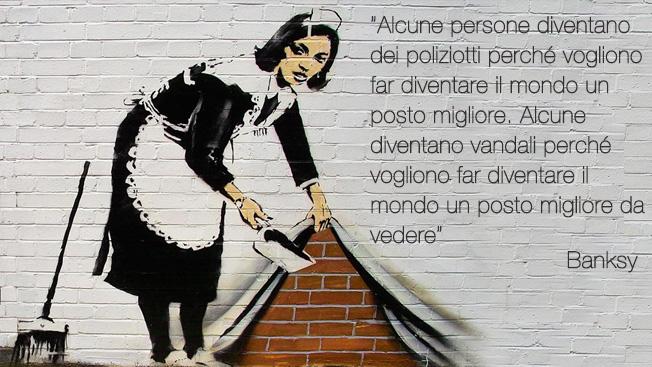 FILA mette le scarpe alle opere di Banksy!