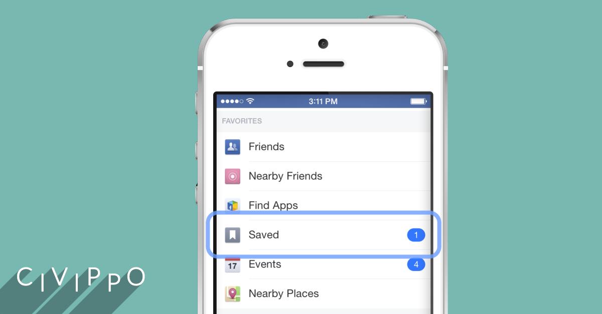 Facebook Save: per salvare i contenuti preferiti!