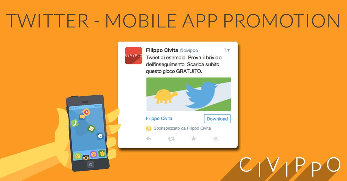 Twitter Mobile App Promotion: come promuovere un'app!