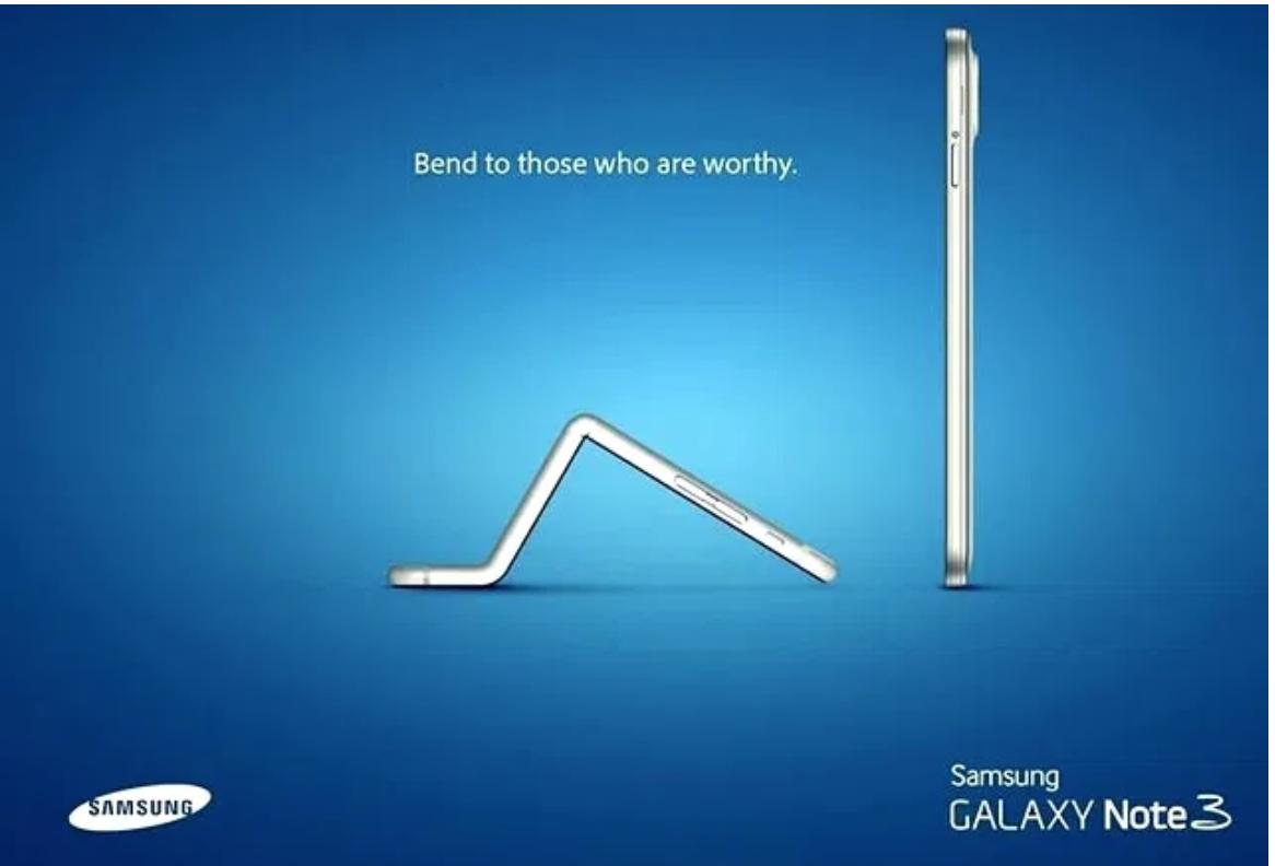 L'iPhone 6 Plus si piega e i competitor…ne approfittano!