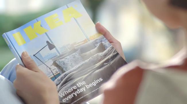 Il nuovo catalogo Ikea è meglio dell'iPad? Incredibile ma vero.