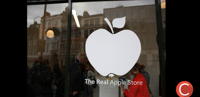 Logo Apple Store reale