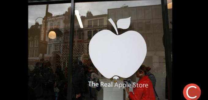 Logo Apple Store reale