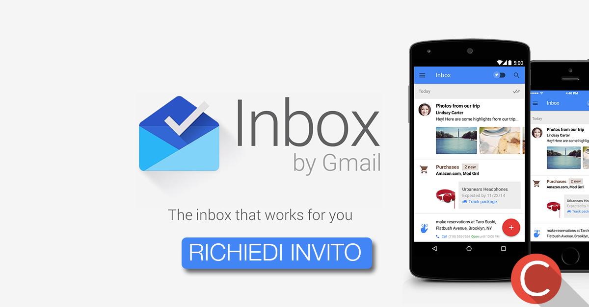 Google INBOX invito: ecco come ottenerlo!