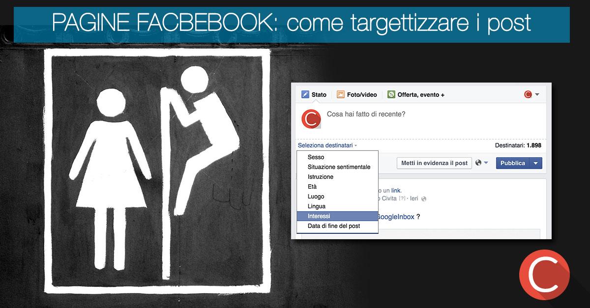 Facebook target interessi