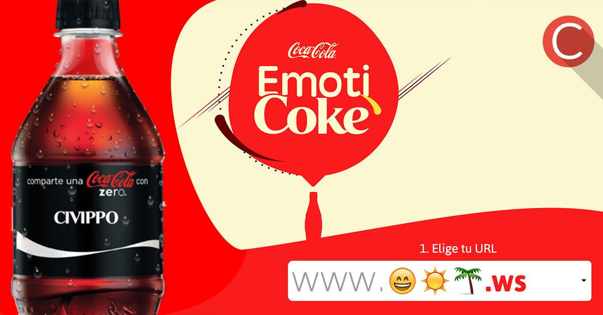 EmotiCoke: il primo indirizzo Web fatto di Emoji