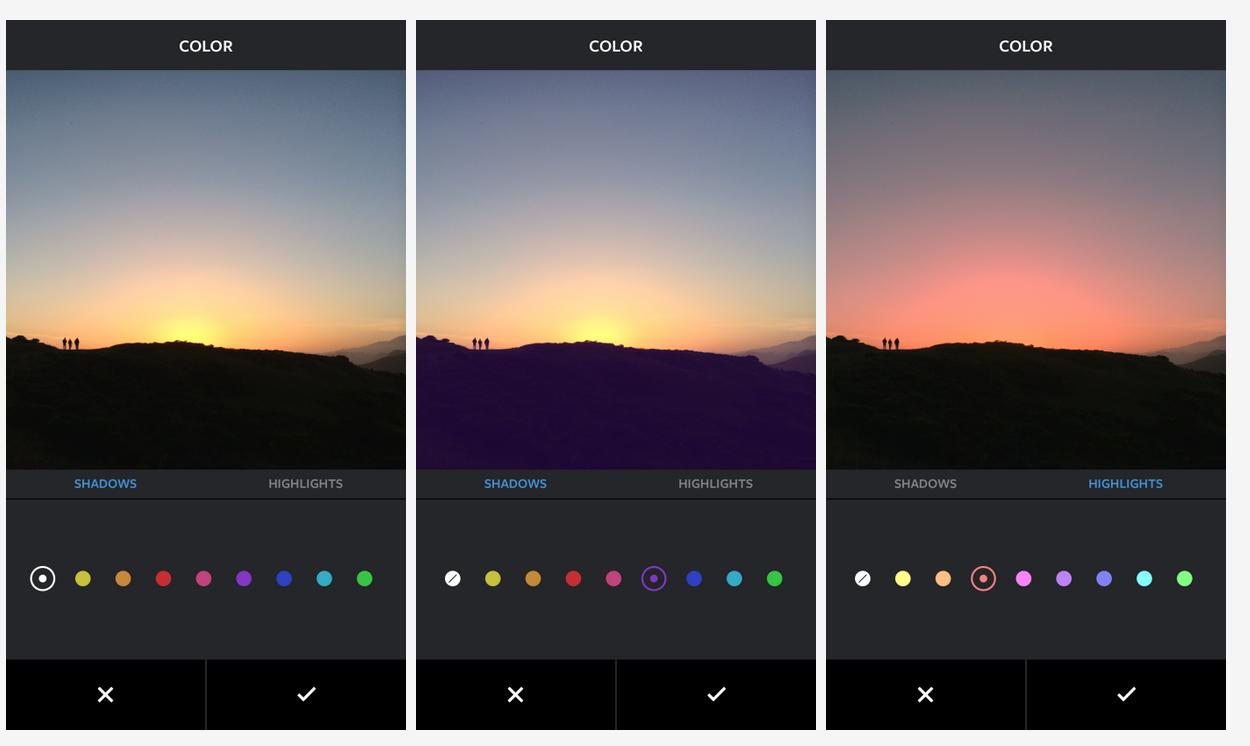 Instagram Color