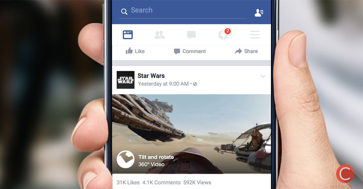 Come realizzare i VIDEO 360 gradi su Facebook!