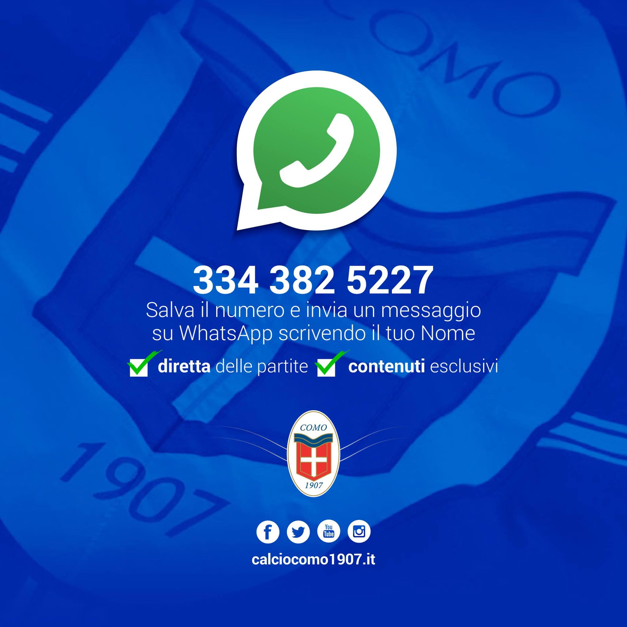 WhatsApp como calcio