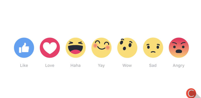 Tasto Reactions Facebook