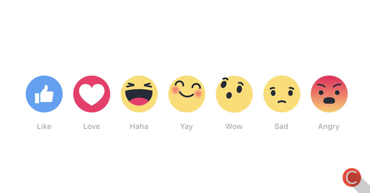 """Arriva Reactions su Facebook: addio tasto """"Mi Piace""""?"""