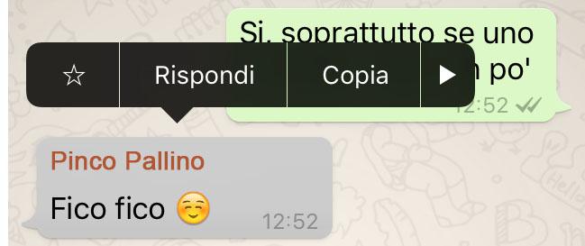 whatsapp rispondi