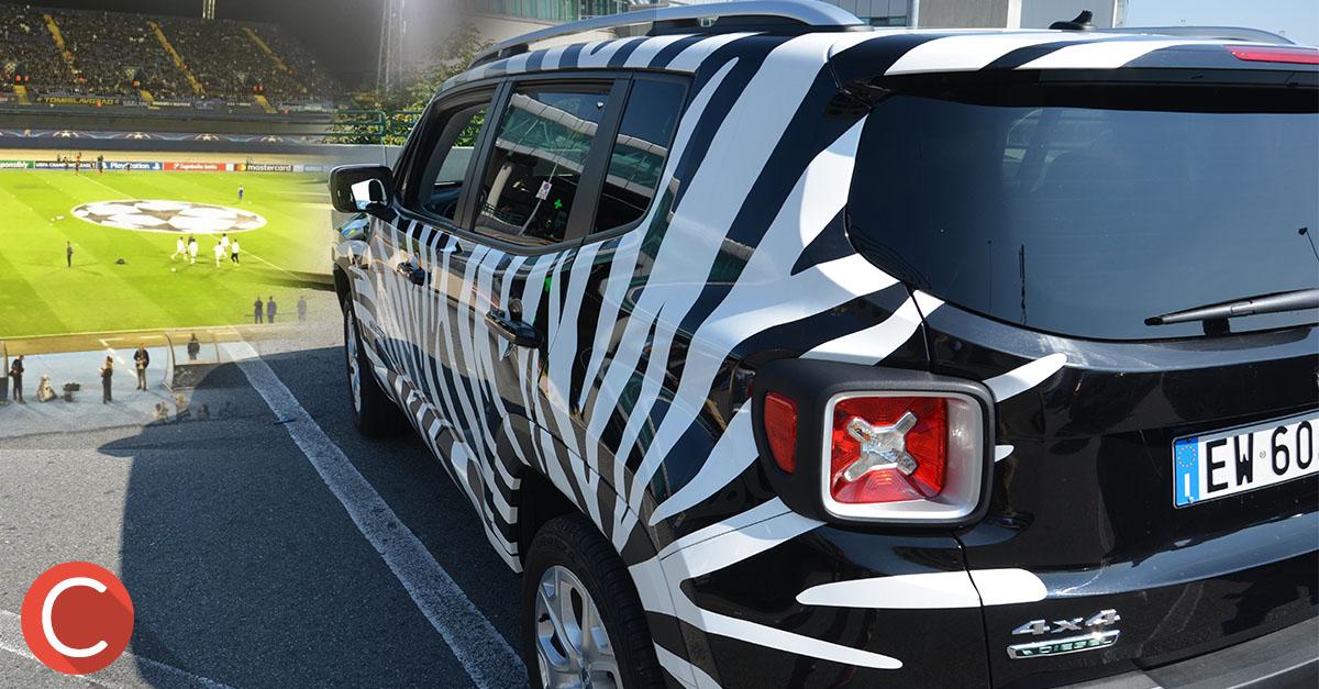 Jeep® & Juventus: la mia giornata da Influencer