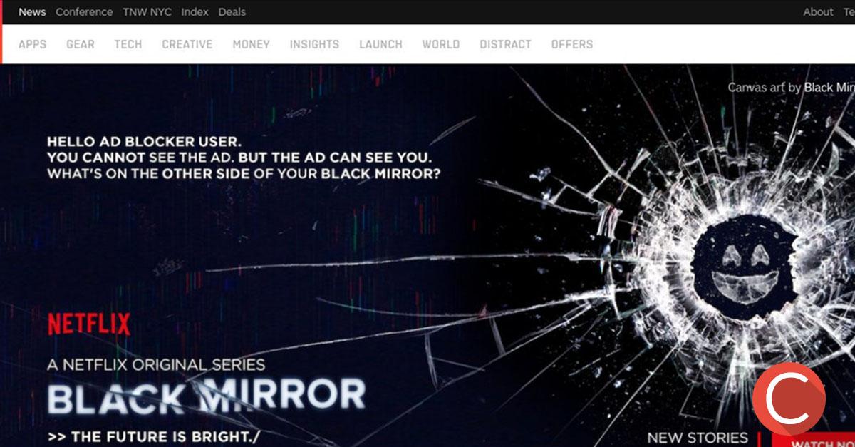Black Mirror colpisce gli ad blocker